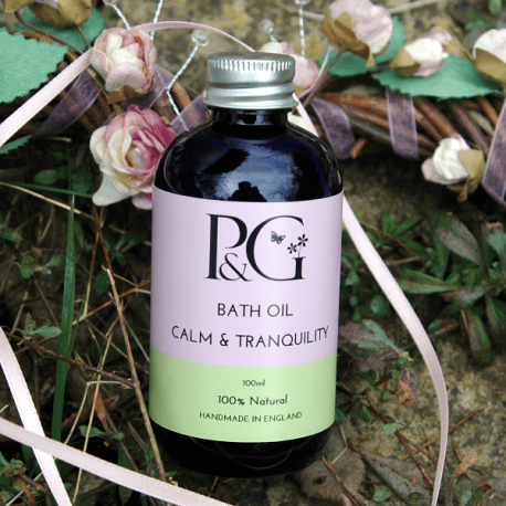 Bath Oil 'Calm & Tranquility'