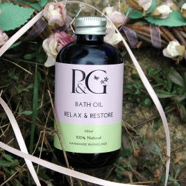 Bath Oil 'Relax & Restore'