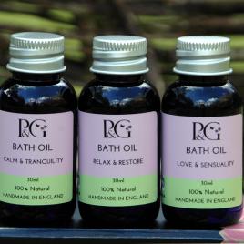Bath Oils - Set of Three