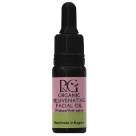 Organic Rejuvenating Facial Oil – For Mature Skin 10ml, 30ml or 3ml Sample