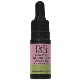 Organic Nourishing Facial Oil – For Normal Skin 10ml, 30ml or 3ml Sample