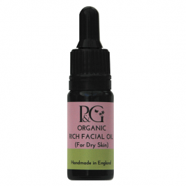 Organic Rich Facial Oil – For Dry Skin 10ml, 30ml or 3ml Sample