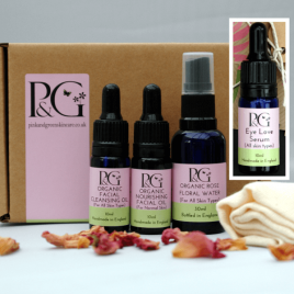 Organic Facial Skincare Ritual 10ml Oils + Eye Serum 10ml