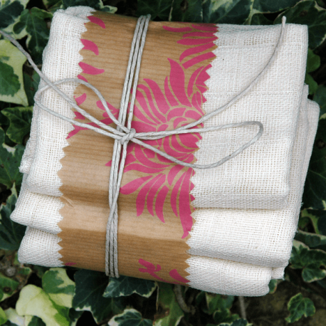 Organic Muslin Cloths x 3