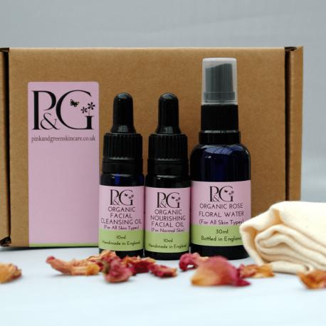 Organic Facial Ritual Collection 10ml Oils
