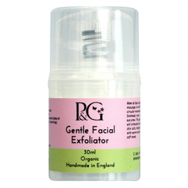 Organic Gentle Facial Exfoliator – 30ml