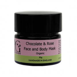 Chocolate & Rose Face and Body Mask – 30g
