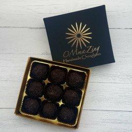 9 Luxury Handmade Bespoke Organic Dark Chocolate Truffles