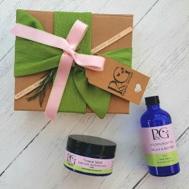 Gift Combo – 'Tropical Island' Scrub 100g + Body Oil Relax & Restore 100ml