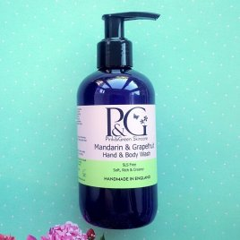 Mandarin & Grapefruit Organic Hand & Body Wash – 250ml