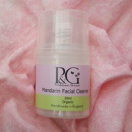 Mandarin Organic Facial Cleanser Travel Size 30ml