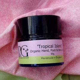 'Tropical Island' Organic Hand & Foot Scrub Travel Size 50g