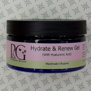 Hydrate and renew gel with hyaluronic acid