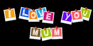I love you mum - The Origins of Mothering Sunday