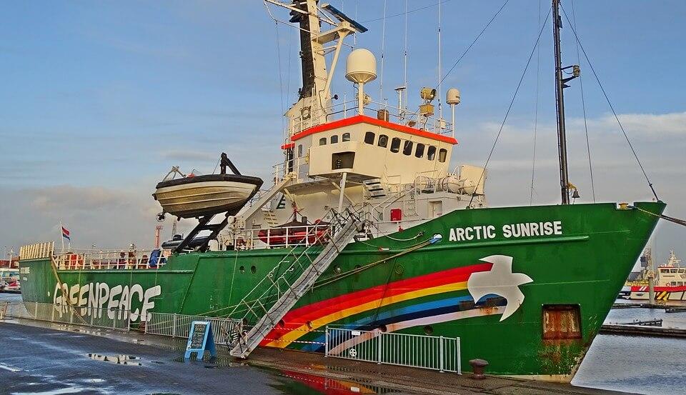 Greenpeace Day 2021 - Greenpeace ship Arctic Sunrise
