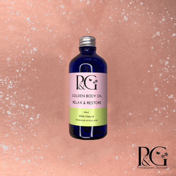 2 Ways to Enjoy Cosy Autumn Nights In - Pink&Green Relax & Restore Body Oil